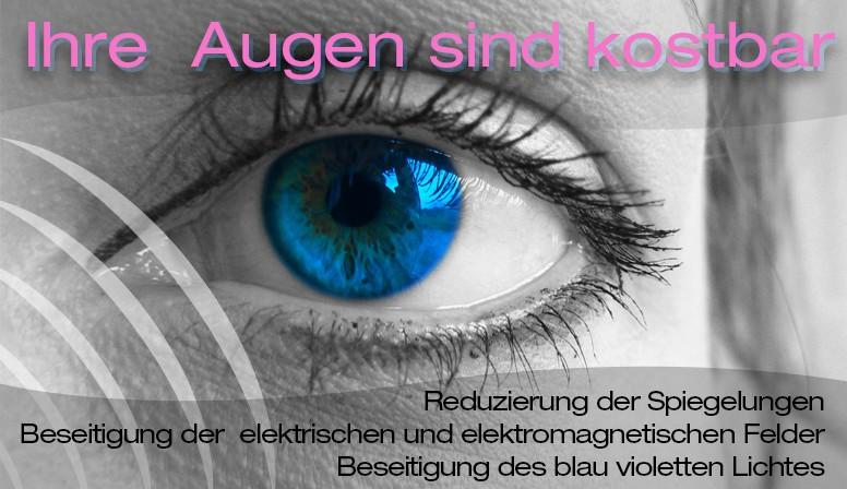 Ihre  Augen sind kostbar
